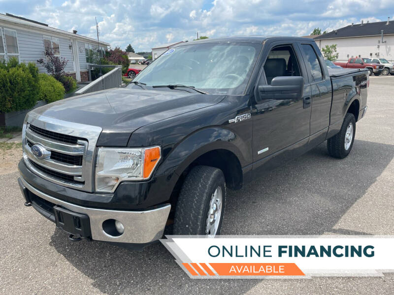 2014 Ford F-150 for sale at Strait-A-Way Auto Sales LLC in Gaylord MI