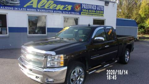 2013 Chevrolet Silverado 1500 for sale at Allen's Pre-Owned Autos in Pennsboro WV