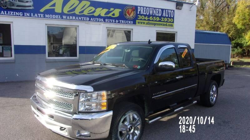 2013 Chevrolet Silverado 1500 for sale at Allen's Pre-Owned Autos in Pennsboro WV