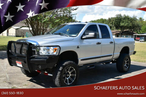2006 Dodge Ram Pickup 2500 for sale at Schaefers Auto Sales in Victoria TX