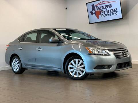 2014 Nissan Sentra for sale at Texas Prime Motors in Houston TX