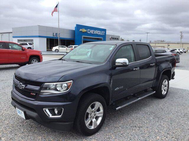 2018 Chevrolet Colorado for sale at LEE CHEVROLET PONTIAC BUICK in Washington NC