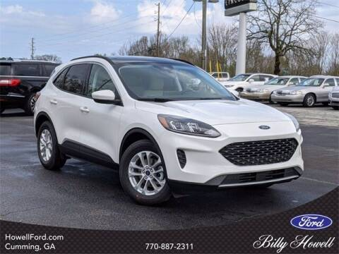 2021 Ford Escape for sale at BILLY HOWELL FORD LINCOLN in Cumming GA