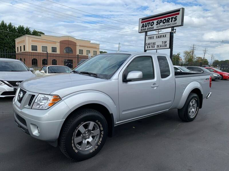 2011 Nissan Frontier for sale at Auto Sports in Hickory NC