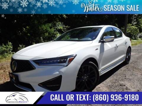 2019 Acura ILX for sale at EAGLEVILLE MOTORS LLC in Storrs CT