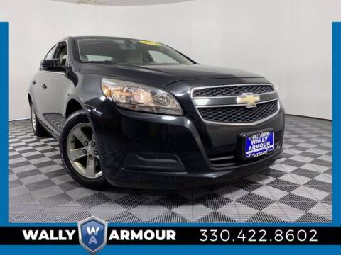 2013 Chevrolet Malibu for sale at Wally Armour Chrysler Dodge Jeep Ram in Alliance OH