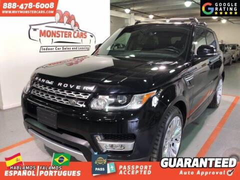 2014 Land Rover Range Rover Sport for sale at Monster Cars in Pompano Beach FL