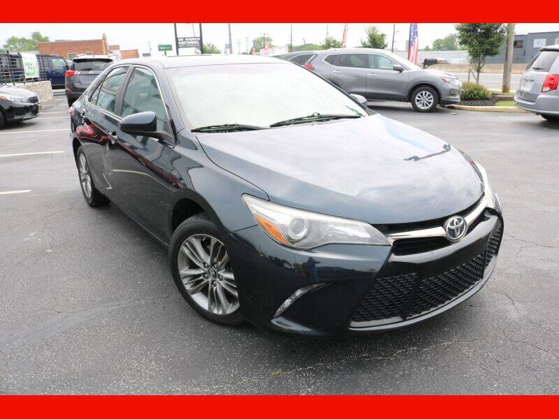 2017 Toyota Camry for sale at AUTO POINT USED CARS in Rosedale MD
