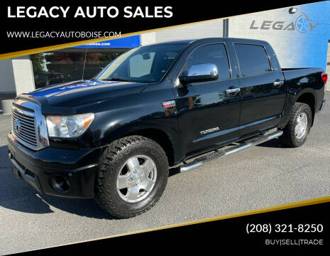 2011 Toyota Tundra for sale at LEGACY AUTO SALES in Boise ID