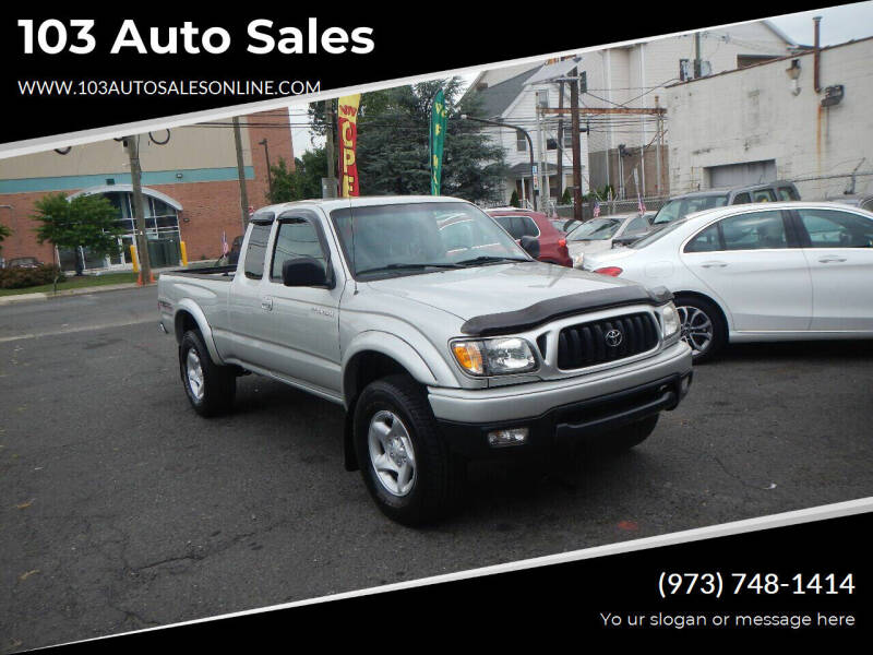 2004 Toyota Tacoma for sale at 103 Auto Sales in Bloomfield NJ