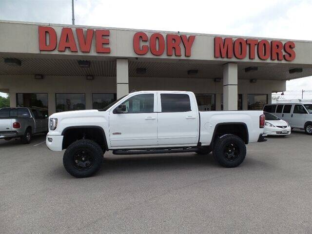 2018 GMC Sierra 1500 for sale at DAVE CORY MOTORS in Houston TX