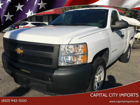 2012 Chevrolet Silverado 1500 for sale at Capital City Imports in Tallahassee FL