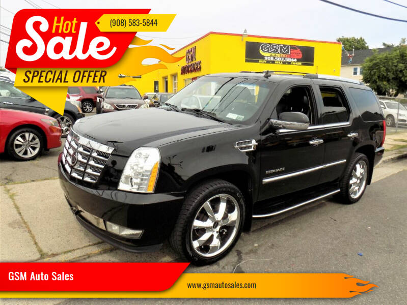 2008 Cadillac Escalade for sale at GSM Auto Sales in Linden NJ