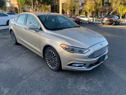 2017 Ford Fusion for sale at In-House Auto Finance in Hawthorne CA