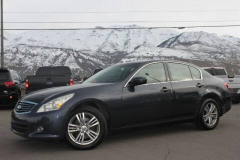 2011 Infiniti G37 Sedan for sale at REVOLUTIONARY AUTO in Lindon UT