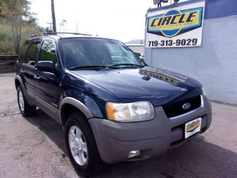 2002 Ford Escape for sale at Circle Auto Center in Colorado Springs CO