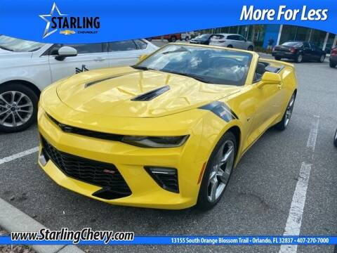 2017 Chevrolet Camaro for sale at Pedro @ Starling Chevrolet in Orlando FL