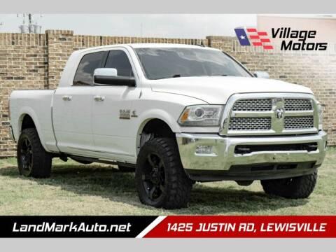 2013 RAM Ram Pickup 2500 for sale at Village Motors in Lewisville TX