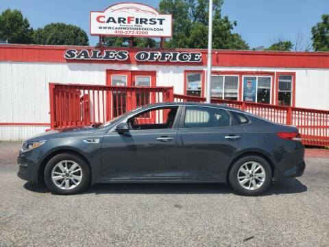2016 Kia Optima for sale at CARFIRST ABERDEEN in Aberdeen MD