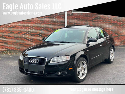2007 Audi A4 for sale at Eagle Auto Sales LLC in Holbrook MA
