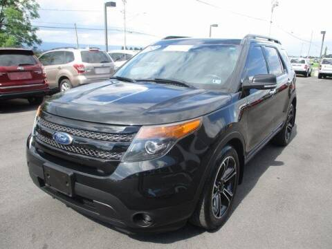 2014 Ford Explorer for sale at FINAL DRIVE AUTO SALES INC in Shippensburg PA