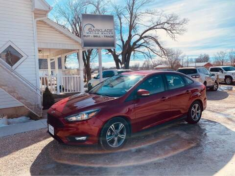 2016 Ford Focus for sale at BARKLAGE MOTOR SALES in Eldon MO