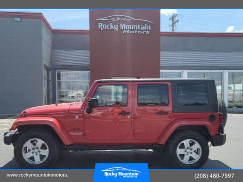 2010 Jeep Wrangler Unlimited for sale at Rocky Mountain Motors in Idaho Falls ID