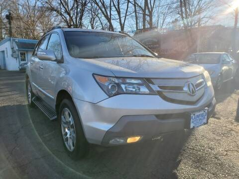 2008 Acura MDX for sale at New Plainfield Auto Sales in Plainfield NJ