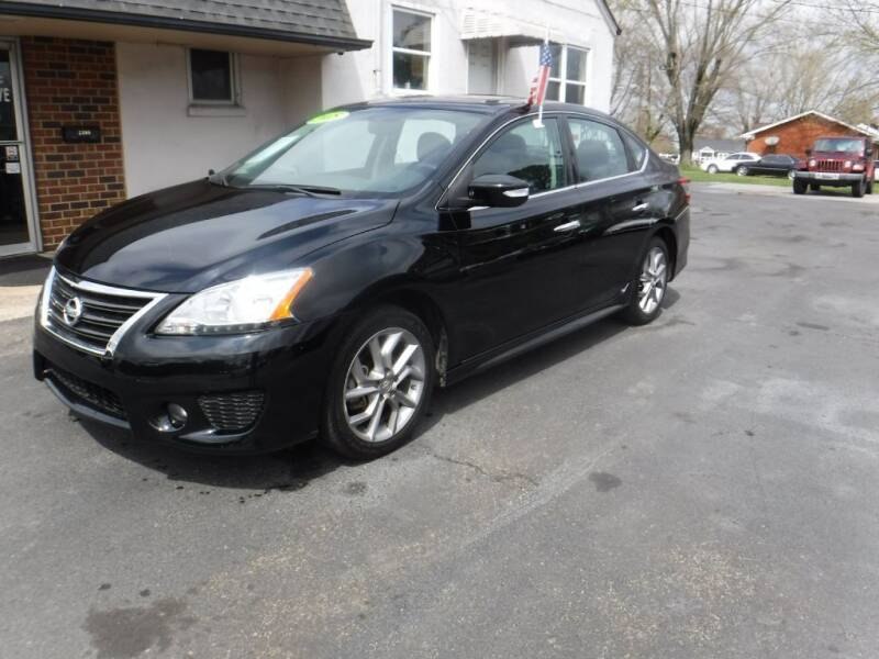 2015 Nissan Sentra for sale at Rob Co Automotive LLC in Springfield TN