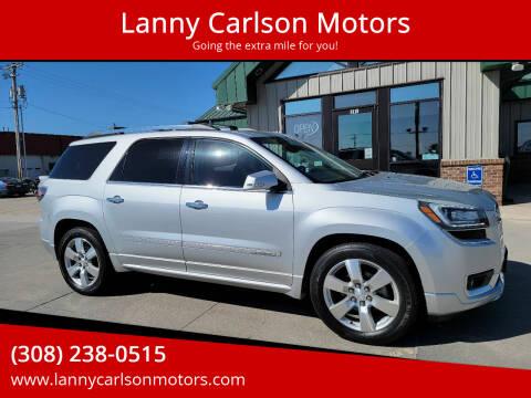 2016 GMC Acadia for sale at Lanny Carlson Motors in Kearney NE