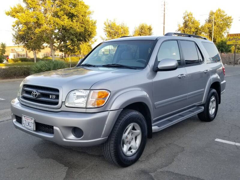 2001 Toyota Sequoia for sale at California Auto Deals in Sacramento CA