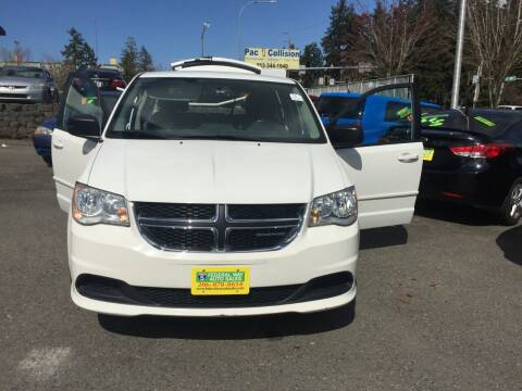 2012 Dodge Grand Caravan for sale at Federal Way Auto Sales in Federal Way WA