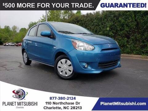 2015 Mitsubishi Mirage for sale at Planet Automotive Group in Charlotte NC