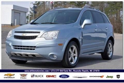2014 Chevrolet Captiva Sport for sale at WHITE MOTORS INC in Roanoke Rapids NC