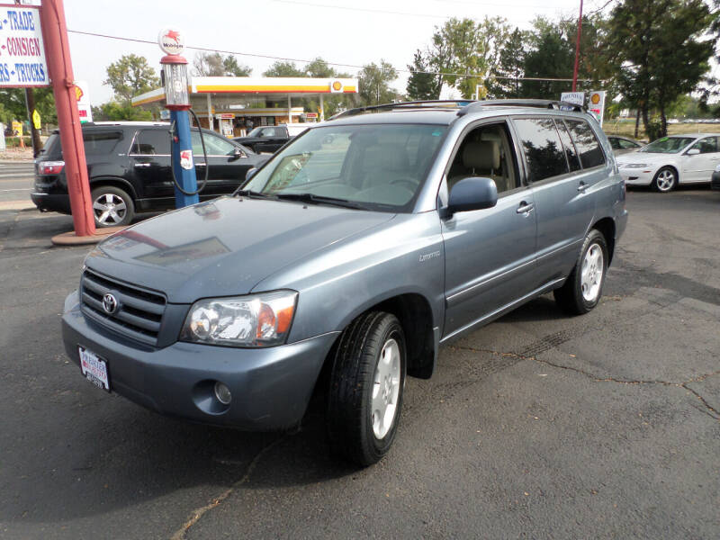 2004 Toyota Highlander for sale at Premier Auto in Wheat Ridge CO