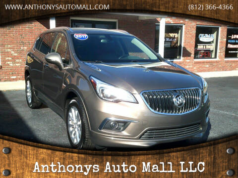2017 Buick Envision for sale at Anthonys Auto Mall LLC in New Salisbury IN