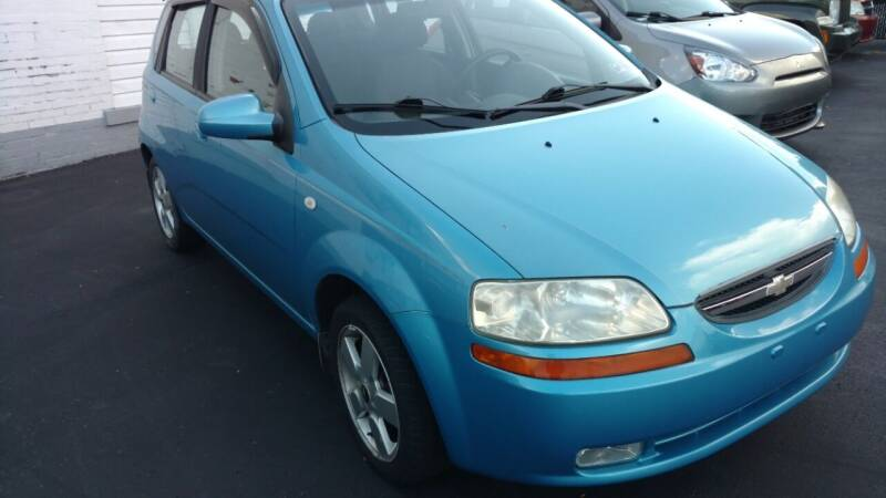 2006 Chevrolet Aveo for sale at Graft Sales and Service Inc in Scottdale PA