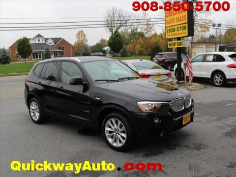 2016 BMW X3 for sale at Quickway Auto Sales in Hackettstown NJ