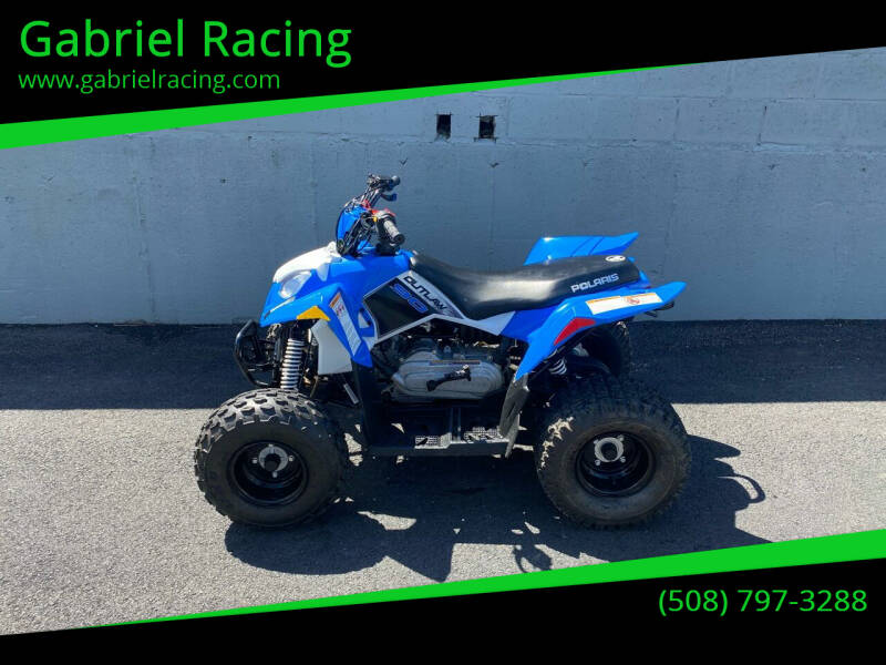 2014 Polaris Outlaw 90 for sale at Gabriel Racing in Worcester MA