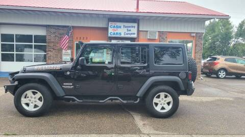 2015 Jeep Wrangler Unlimited for sale at Twin City Motors in Grand Forks ND