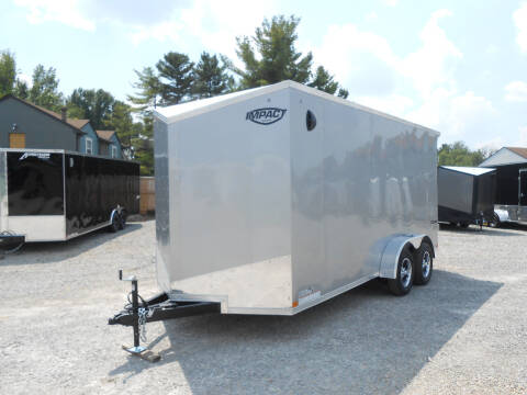 2022 Impact Tremor 7x16 for sale at Jerry Moody Auto Mart - Trailers in Jeffersontown KY