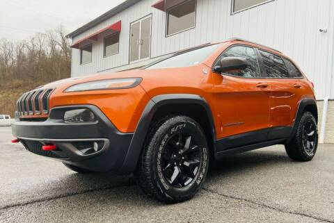 2014 Jeep Cherokee for sale at Bailey Brand in Clarksburg WV