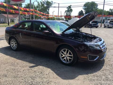 2011 Ford Fusion for sale at Antique Motors in Plymouth IN