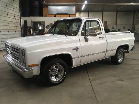 1986 Chevrolet C/K 10 Series for sale at T James Motorsports in Gibsonia PA