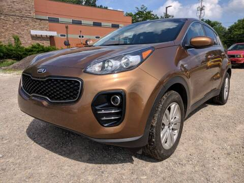 2017 Kia Sportage for sale at DILLON LAKE MOTORS LLC in Zanesville OH