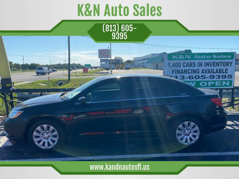 2012 Chrysler 200 for sale at K&N Auto Sales in Tampa FL