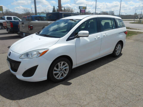 2013 Mazda MAZDA5 for sale at Salmon Automotive Inc. in Tracy MN