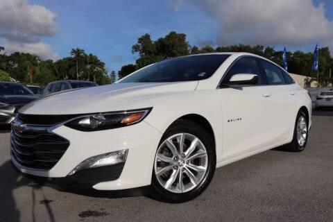 2020 Chevrolet Malibu for sale at OCEAN AUTO SALES in Miami FL