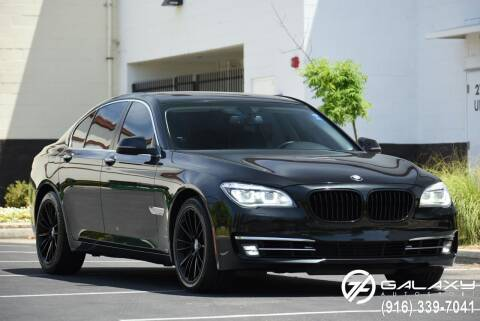 2013 BMW 7 Series for sale at Galaxy Autosport in Sacramento CA