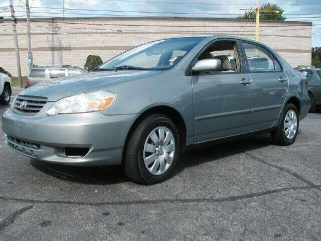 2003 Toyota Corolla for sale at JacksonvilleMotorMall.com in Jacksonville FL